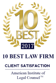 10 Best Law Firm 2017 - Client Satisfaction